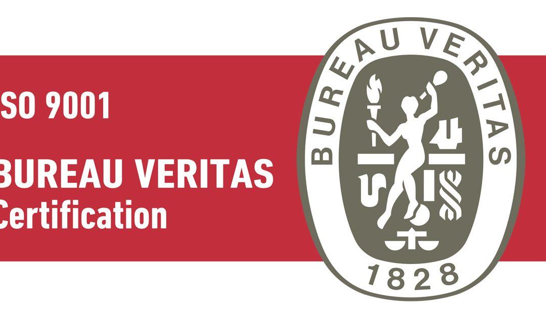 MetaMetrics has received prestigious Bureau Veritas certification